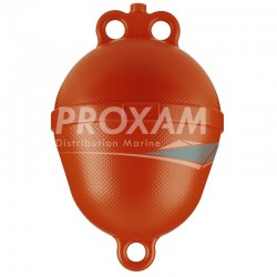 BOUEE PLASTIQUE ORANGE Ø250x390MM