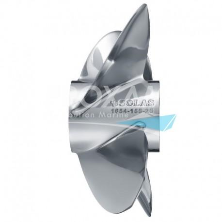 HELICE INOX BRAVO III 4P 15 1/2x26L