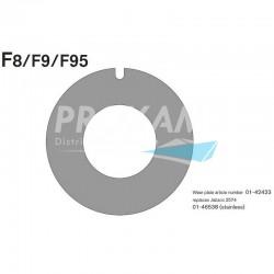 PLAQUE D'USURE F8/F9/F95B/FIP40