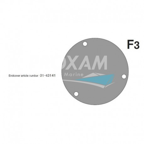 COUVERCLE F3B-19