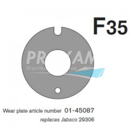 PLAQUE D'USURE F35B