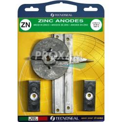 ANODES ZINC - KIT F30-F40-F60