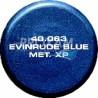 AEROSOL PEINTURE EVINRUDE BLEU METAL XP 400ML