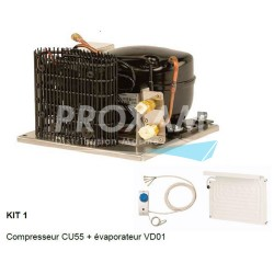 KIT COMPLET GROUPE FROID DOMETIC CU55+VD01