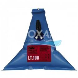 RESERVOIR EAU DOUCE SOUPLE TRIANGULAIRE 100L - 1100x1100x250MM