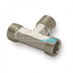 T 1/4 NPT x 3/8 x 3/8 ENTREES FLEXIBLES LATERALES (x3)