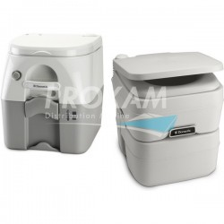 WC PORTABLE SERIE 976 BLANC/GRIS - 333x387x387MM