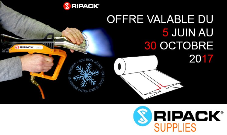Offre Film Thermorétractable Ripack 2017
