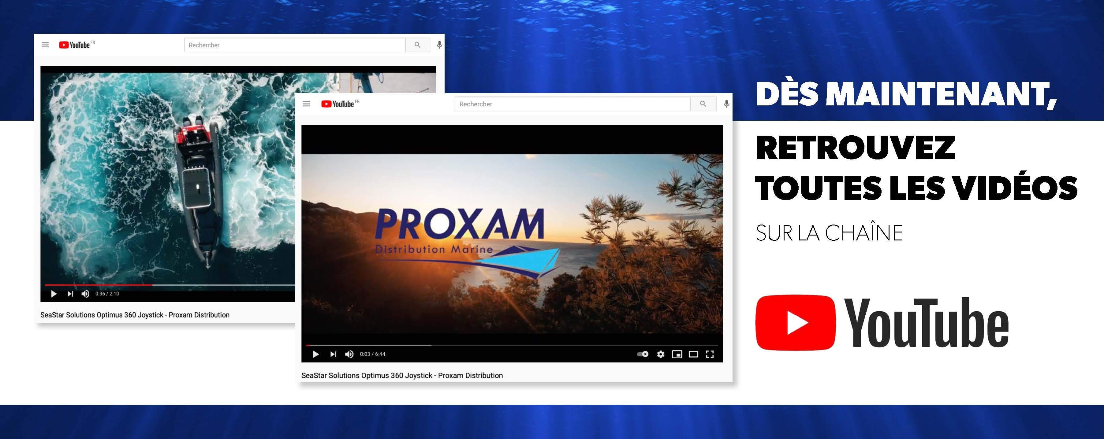 Chaîne YouTube Pièces Marine
