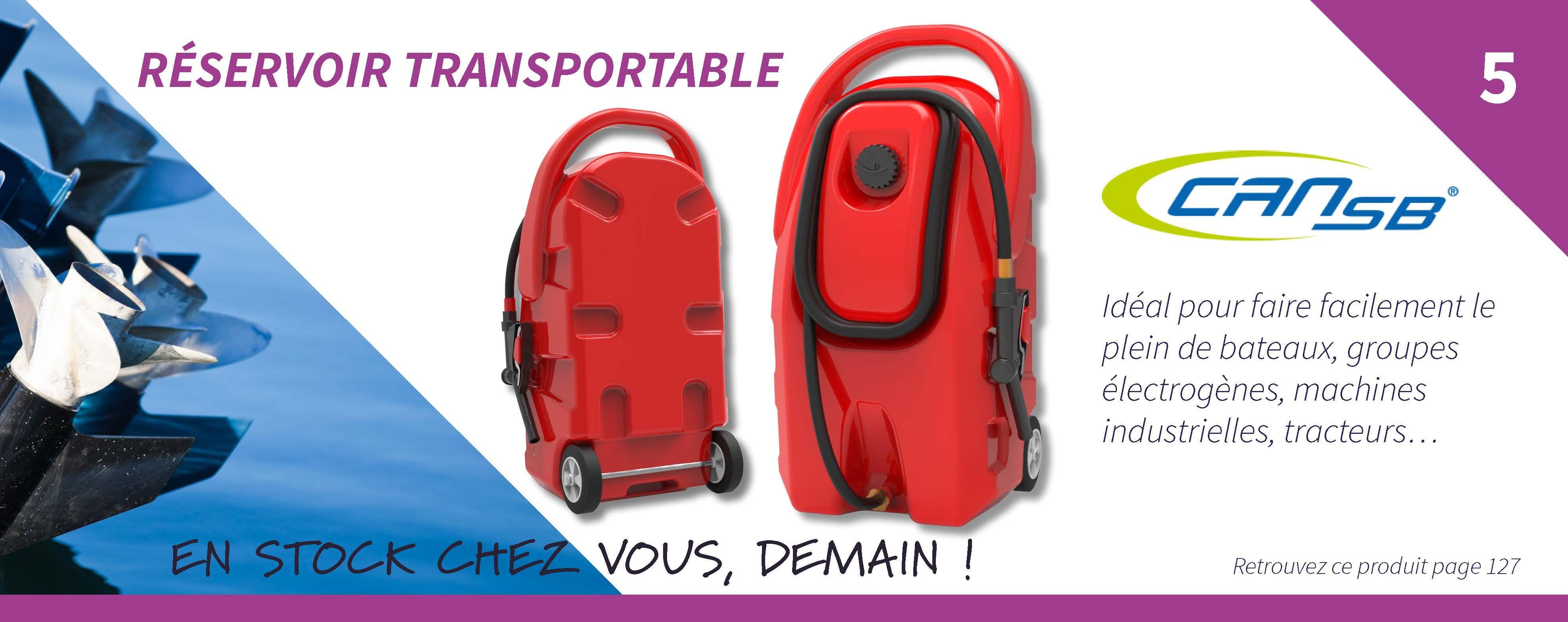 Réservoir transportable