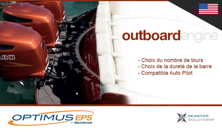 Direction électronique EPS Outboard - Seastar Solutions